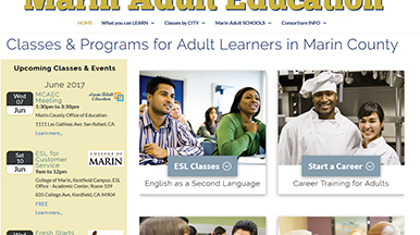 Marin Adult Education